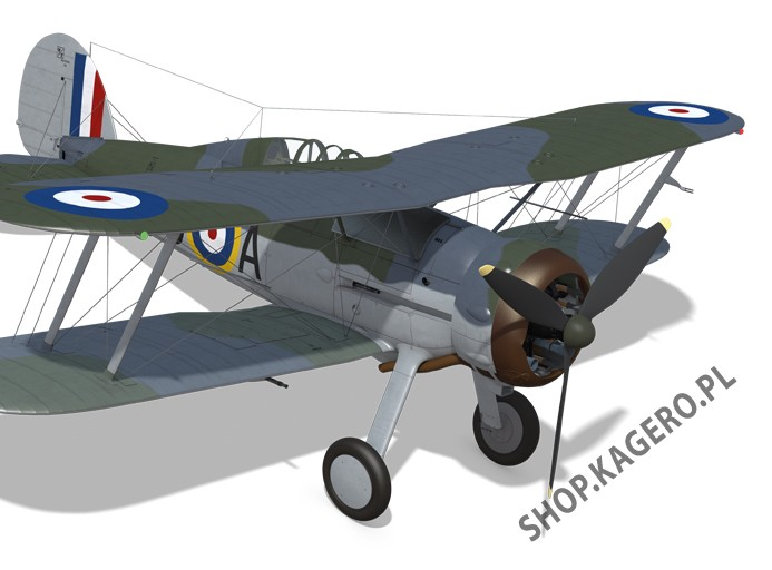 Gloster Gladiator Mk I and II