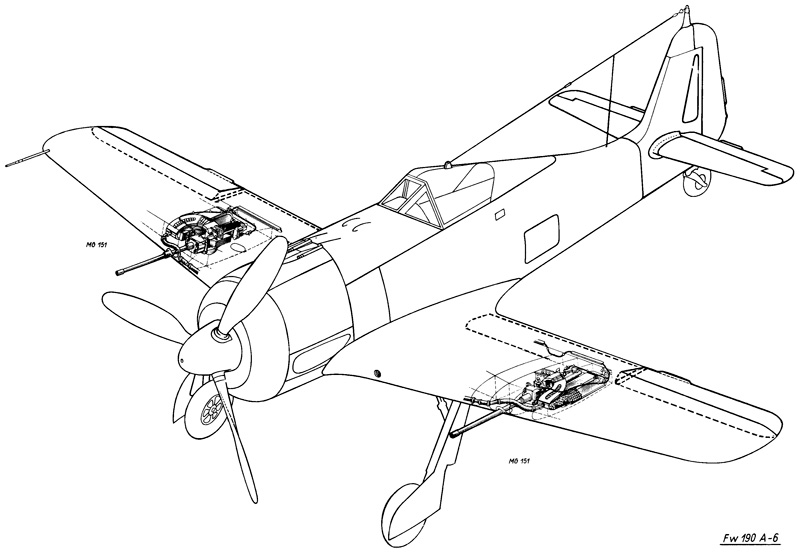 Reprint of technical documentation of FW 190 (selection) [Kagero's Archiwum]